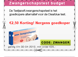 testjezelf zwangerschapstest